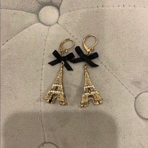 Eiffel Tower Dangling Earrings